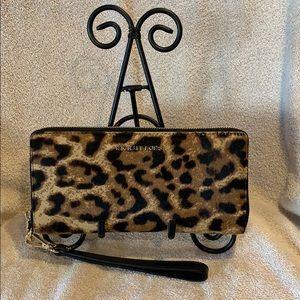 Michael Kors  Calf Hair Cheetah  Wallet  NWT